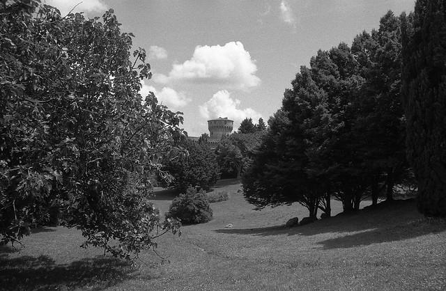 Il parco pubblico di Volterra