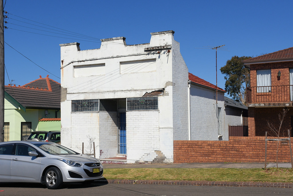 Former Shop, Carlton, Sydney, NSW.
