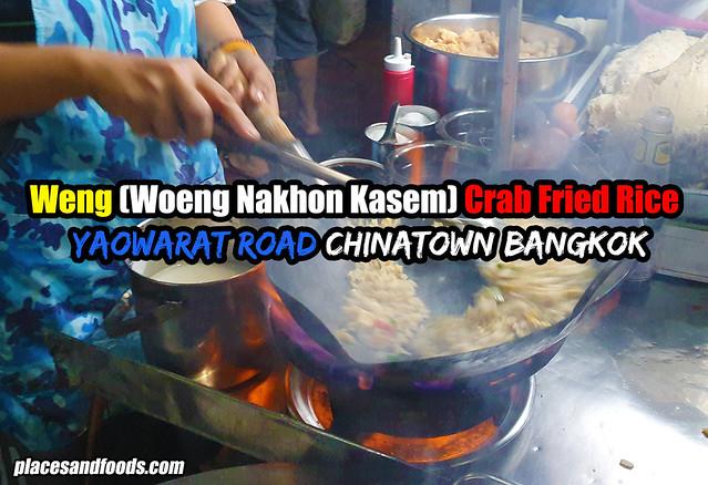 chinatown bangkok weng