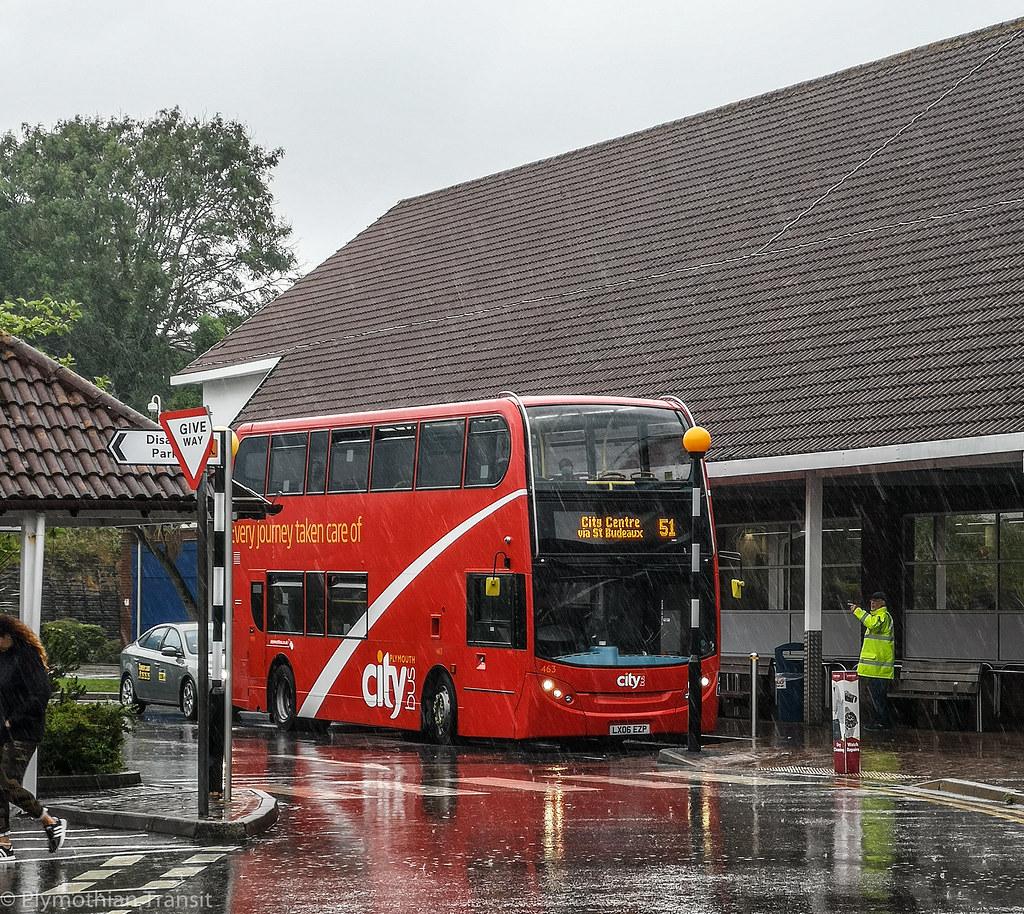 Plymouth Citybus 463 LX06EZP