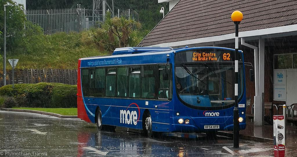 plymouth Citybus 1011 HF54HFR