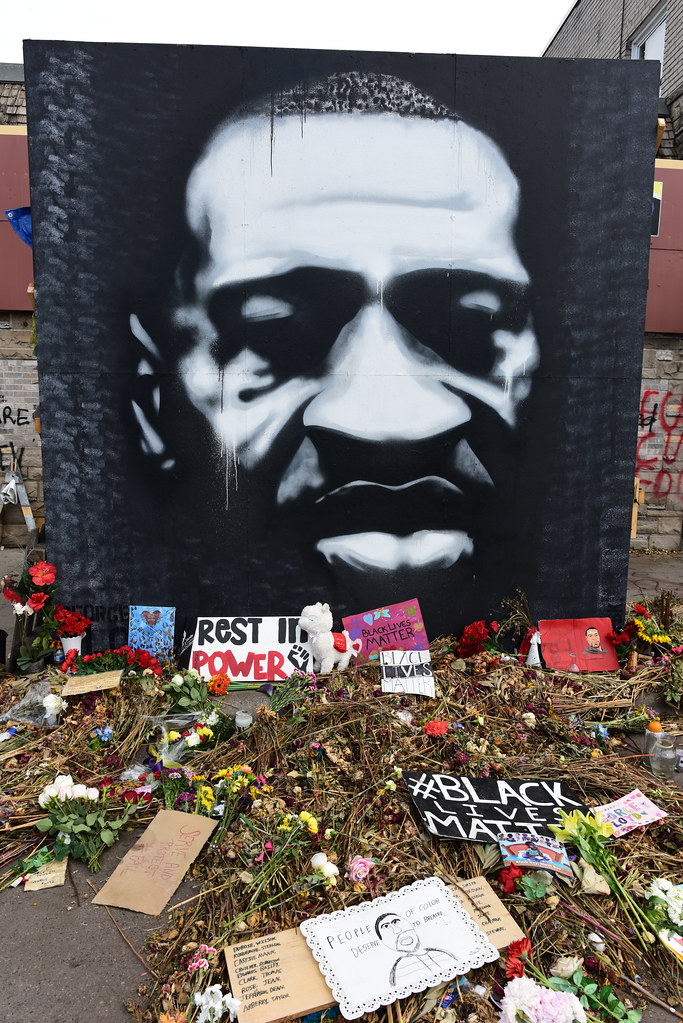 Remembering George Floyd at Chicago and 38th