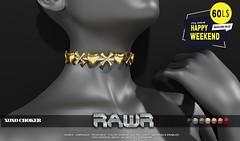 RAWR! XOXO Choker HW