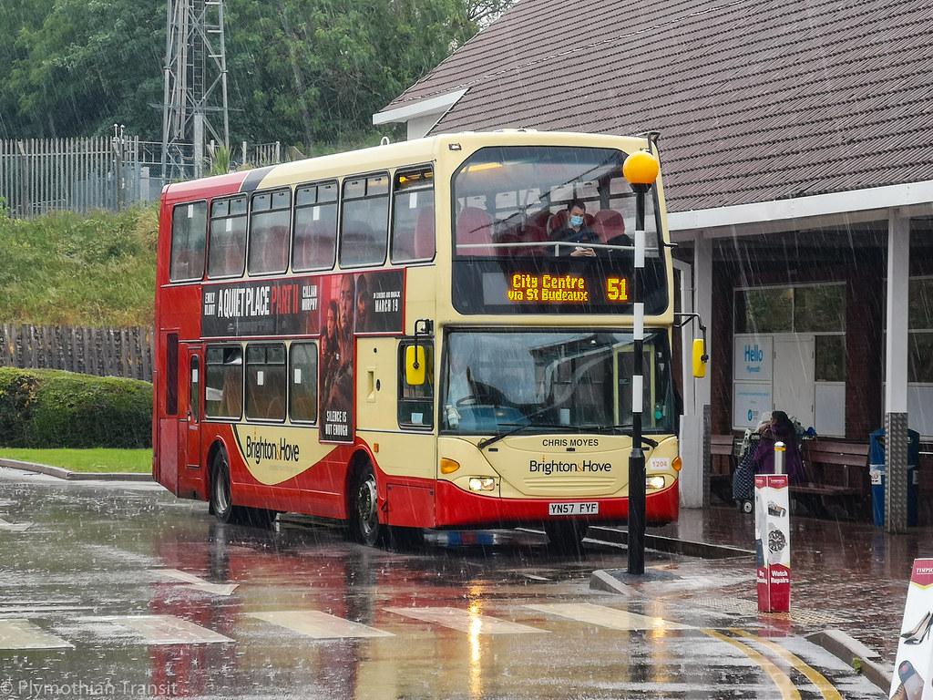 plymouth Citybus 1204 YN57FYF