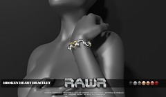 RAWR! Broken Heart Bracelet PIC