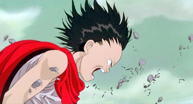 "Movie poster & the stills of Japanese animated movie"" Akira"""