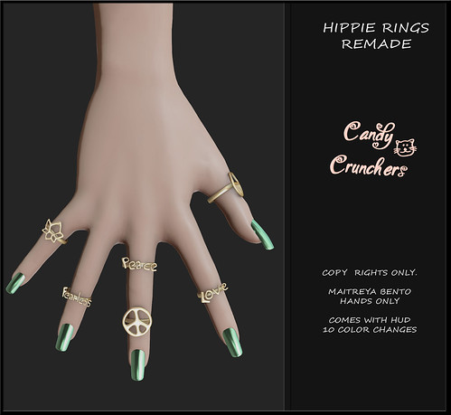 Hippie Rings - remade READ ALL - Free Or buy