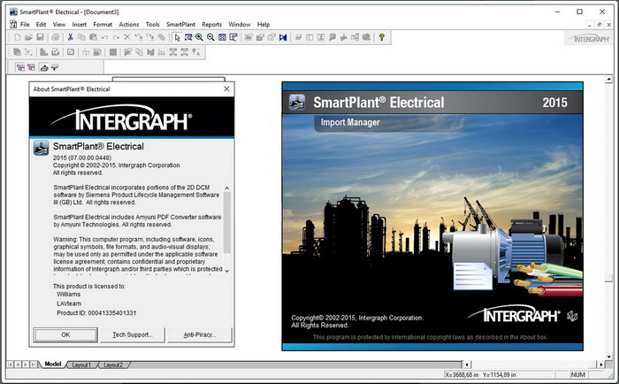 Working with Intergraph SmartPlant Electrical 2015 v07.00.00.0448 full