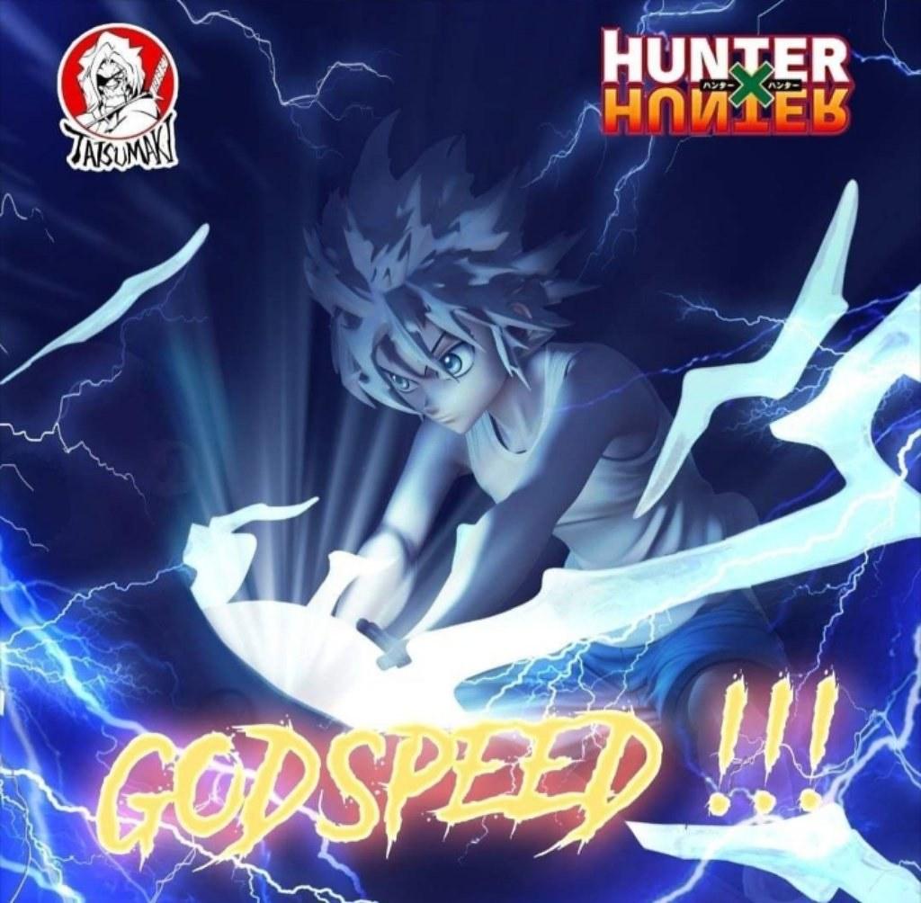 Tatsumaki Studio《獵人 HUNTER×HUNTER》令人震懾的絕望瞬間「奇犽VS尤匹」1/6比例場景雕像(Killua X Youpi  A Shocking Despair)