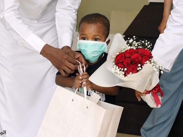 5656 Youngest COVID-19 patient in Yanbu recovers