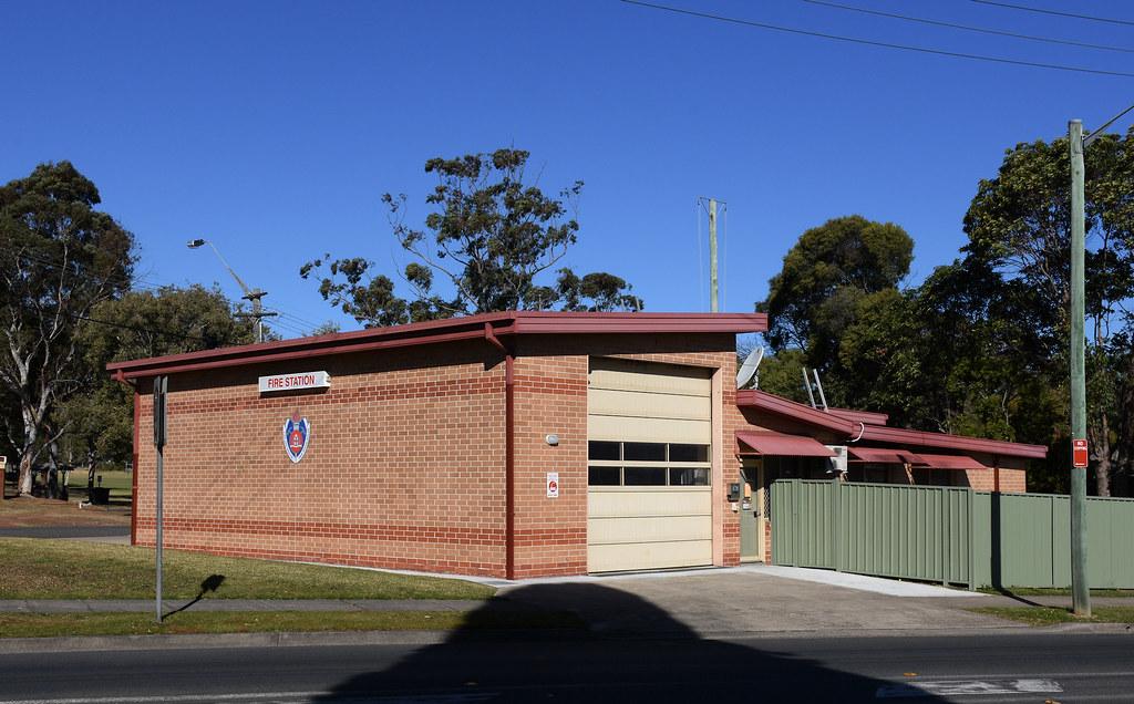 Riverwood Fire Station, Riverwood, Sydney, NSW.