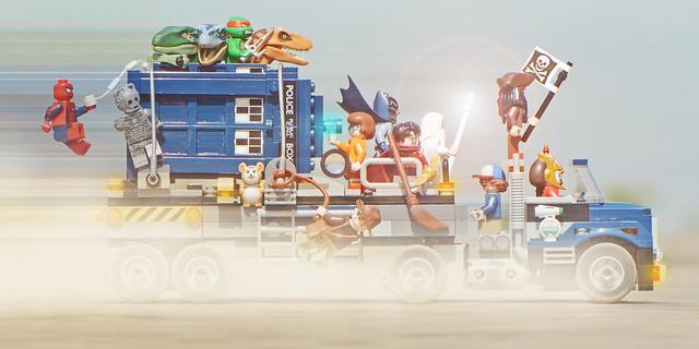 LEGO Theme Mash-Up MOC