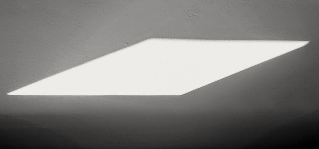 170/366: the opening - afternoon parallelogram (phone photography)