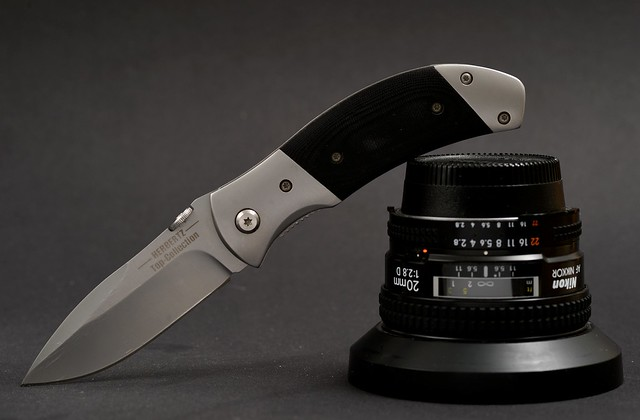 Knife and Lens