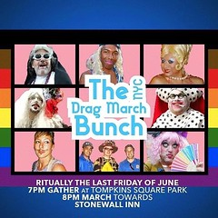 Stay Home and when OUT! Be a Safe Bunch of... #nycdragmarch #lgbtq #pride #blacklivesmatter #blacktranslivesmatter