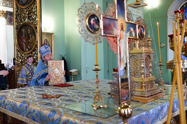 в день празднования Курской-Коренной иконе «Знамение» Божией Матери 19.06.2020