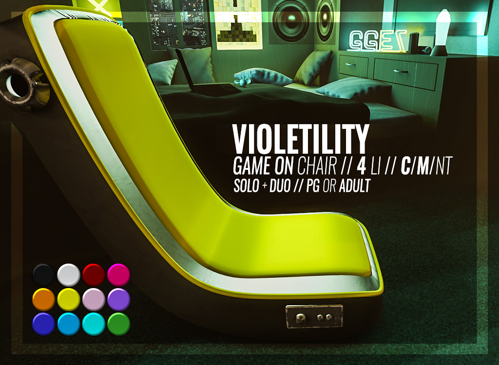 Violetility – Game On Chair