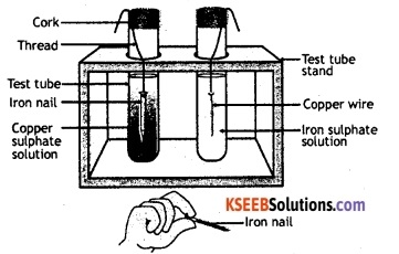 KSEEB Class 10 Science Important Questions Chapter 3 Metals and Non-metals 9