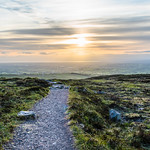 Summer Evening View From Divis