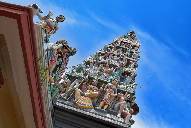 Hindu Temple, Little India, Singapore.