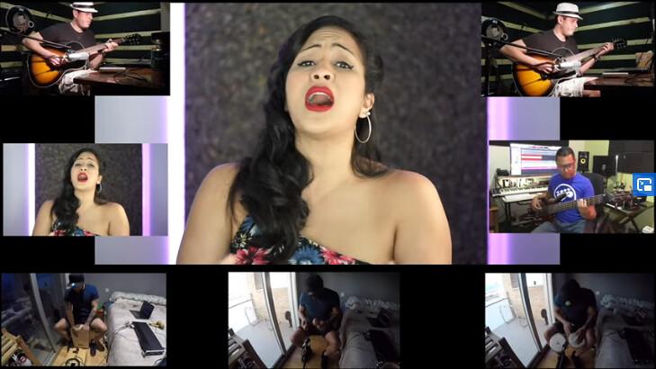 Screenshot_2020-06-20 CHINODRUMS 2020 Cover Ayer Gloria Estefan(1)