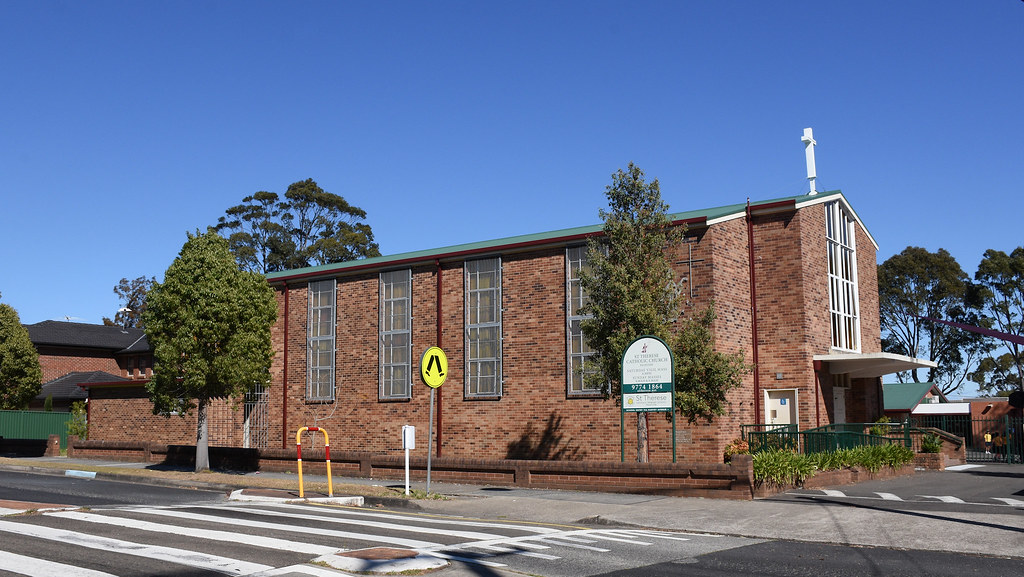 St Therese Catholic Church, Padstow, Sydney, NSW.