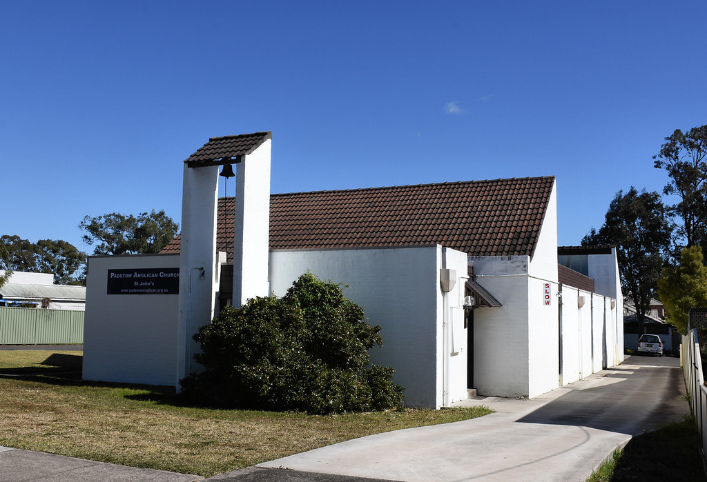 St John's Anglican Church, Padstow, Sydney, NSW.
