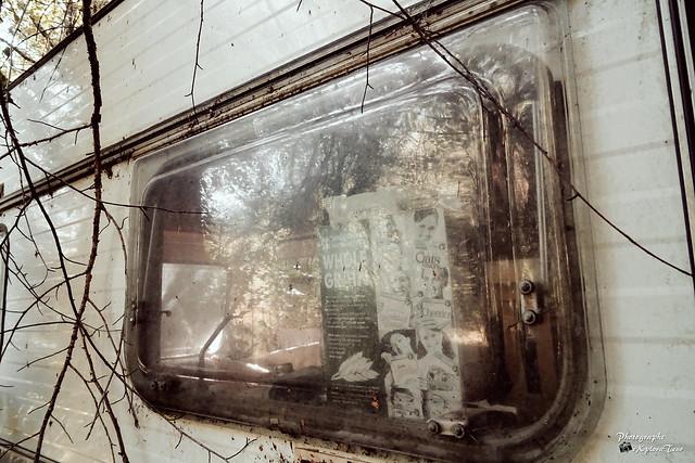 Abandoned caravan