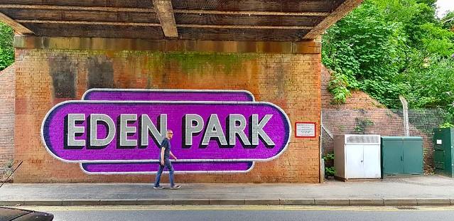 EdenPark, Beckenham - Railway street art