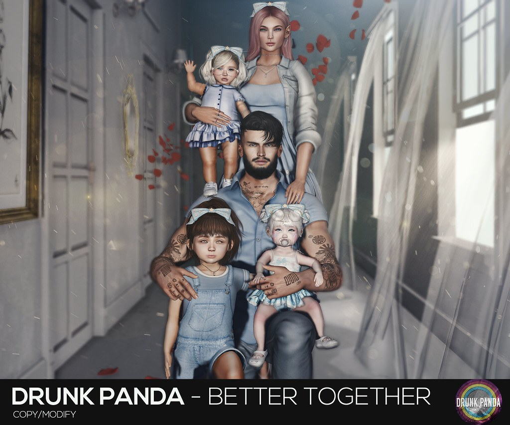 Drunk Panda / Poses – BetterTogether