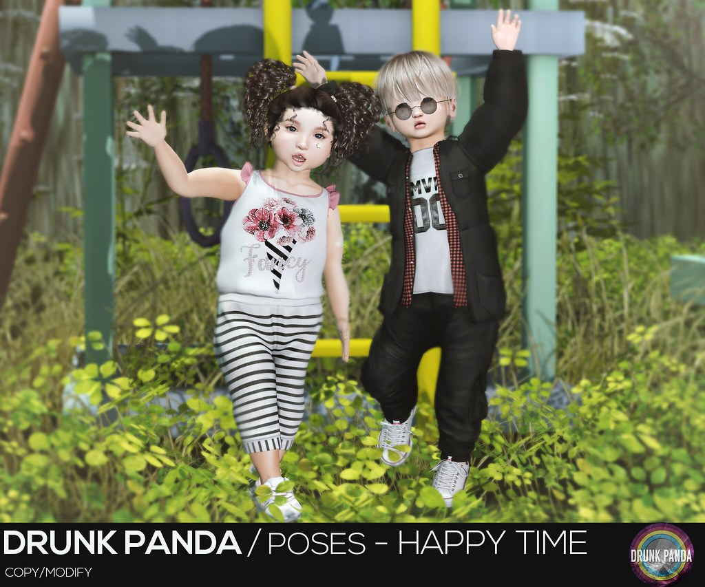 Drunk Panda / Poses – HappyTime