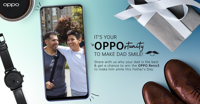 Oppo Fathers' Day Promo