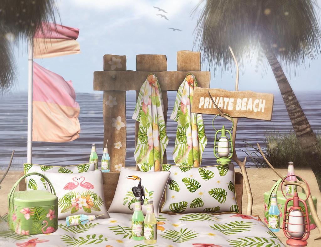 ACORN Troppo Beach Set