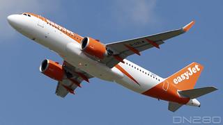 EasyJet A320-251N msn 10053 F-WWDK / G-UZLM
