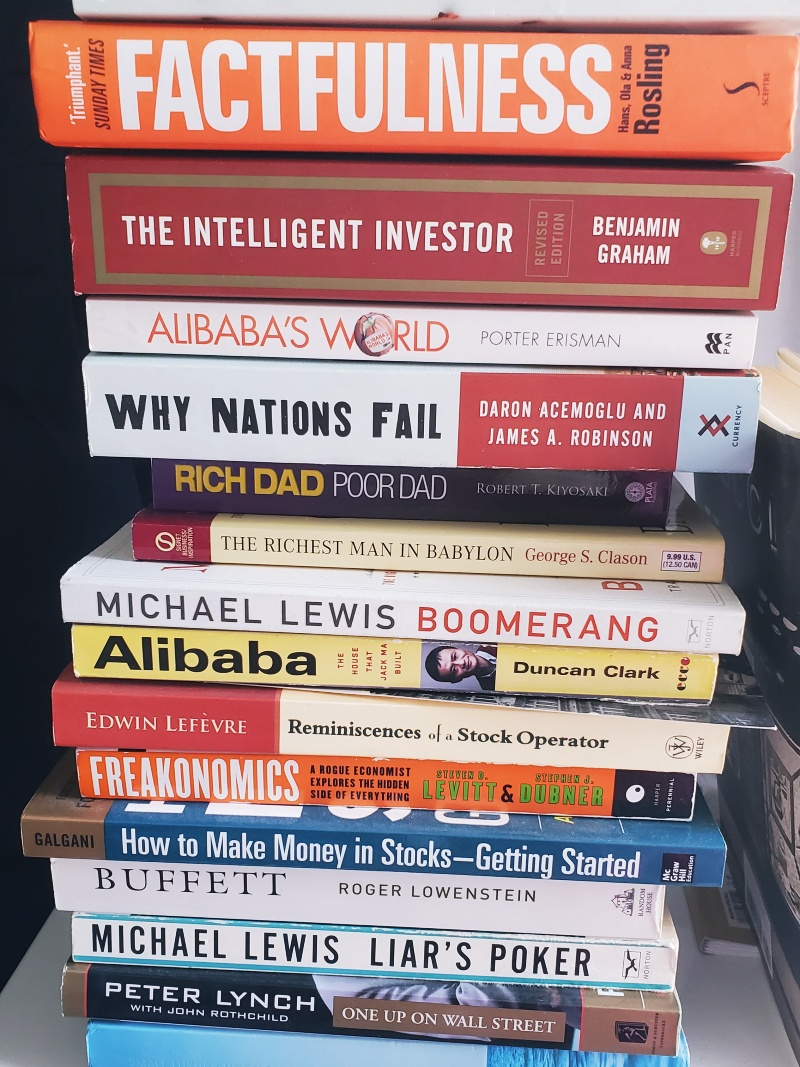 finance stocks investment books