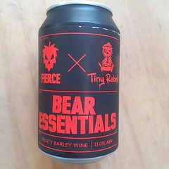 Fierce Beer - Bear Essentials (Barley Wine) (330 ml can)