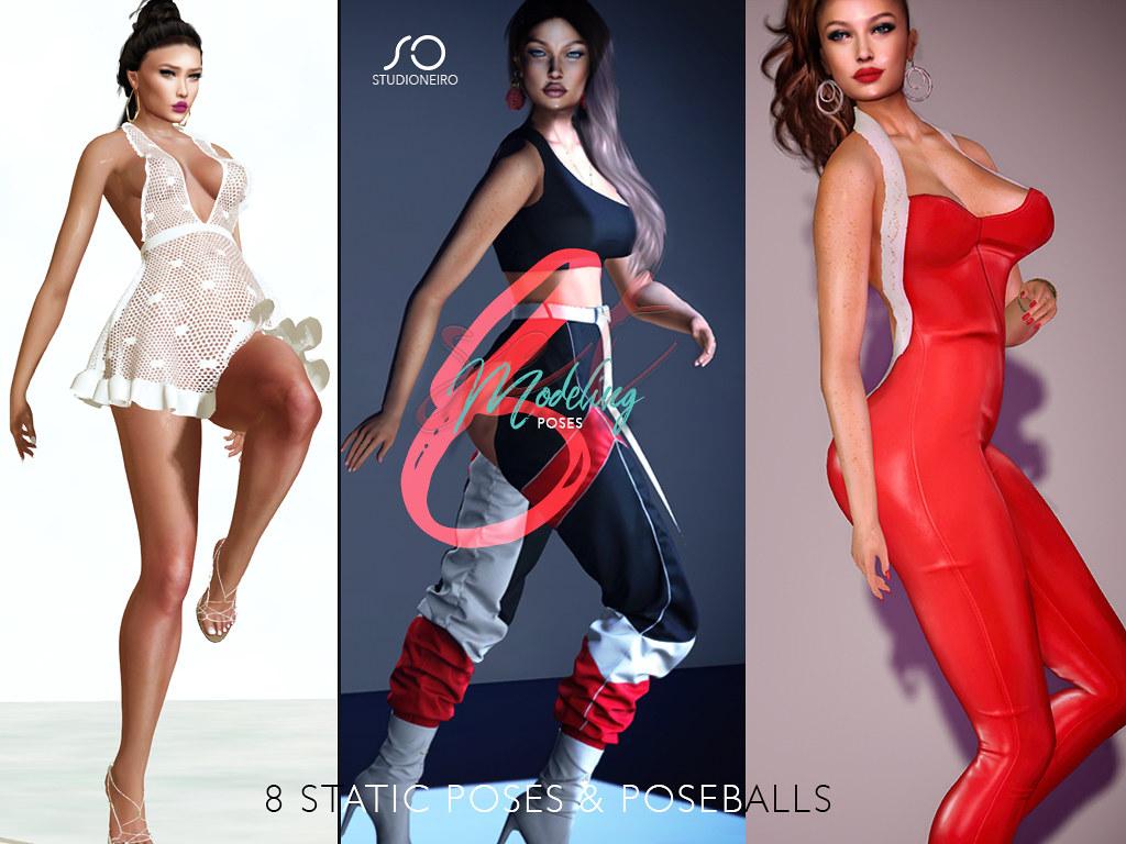 :studiOneiro: Modeling set /poses/
