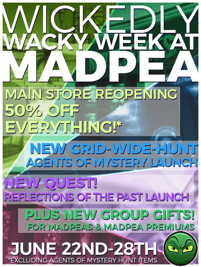 MadPea's Wickedly Wacky Week!