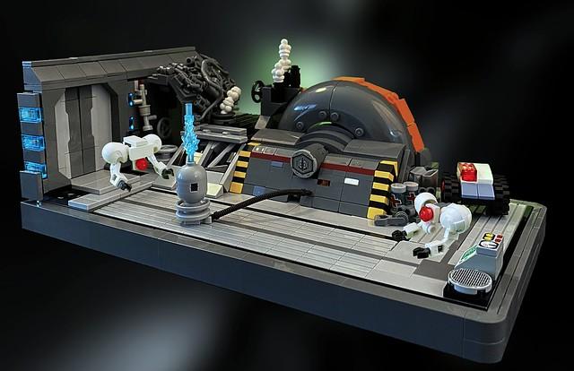 T-Class Frigate Engine Room