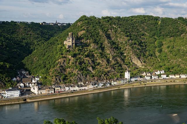 St. Goarshausen und Burg Katz