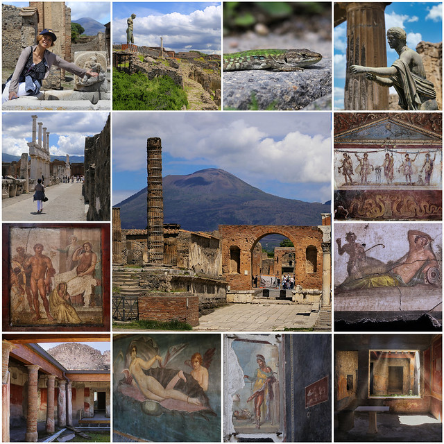 My best of the vanished city Pompeii