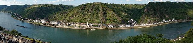 Mittelrheintal bei St. Goarshausen