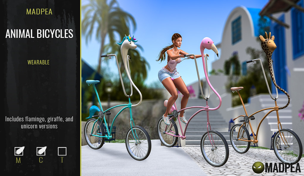 MadPea Animal Bicycles @Belle Event!