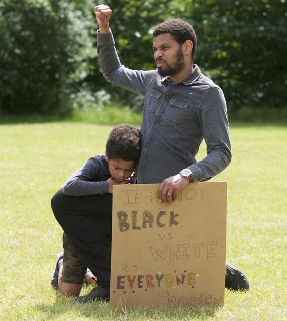 It is not Black vs White