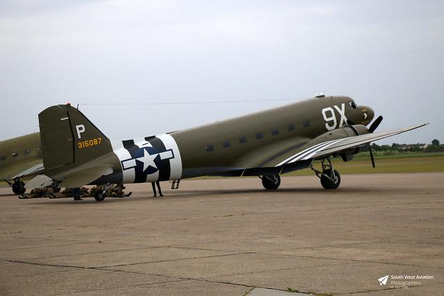 315087 / N150D Douglas C-47D Skytrain, Duxford, Cambridgeshire