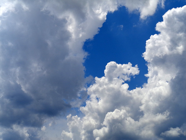 Clouds With A Touch Of Blue.