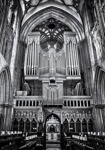 A mighty organ