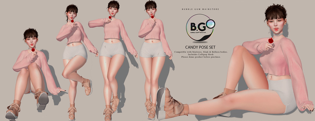 [B.G] Candy Pose Pack