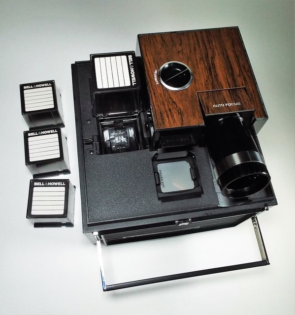 Bell & Howell Slide Cube Projector