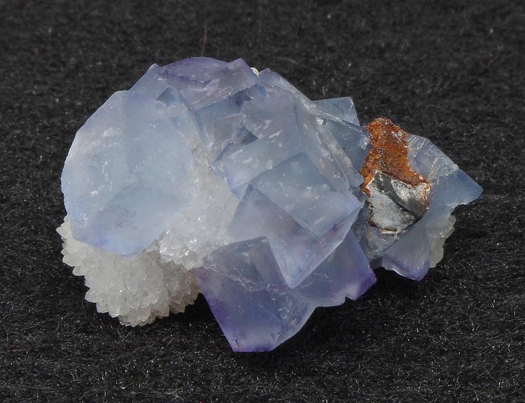 Fluorite - Blanchard Mine, Bingham, Hansonburg District, Socorro Co., New Mexico